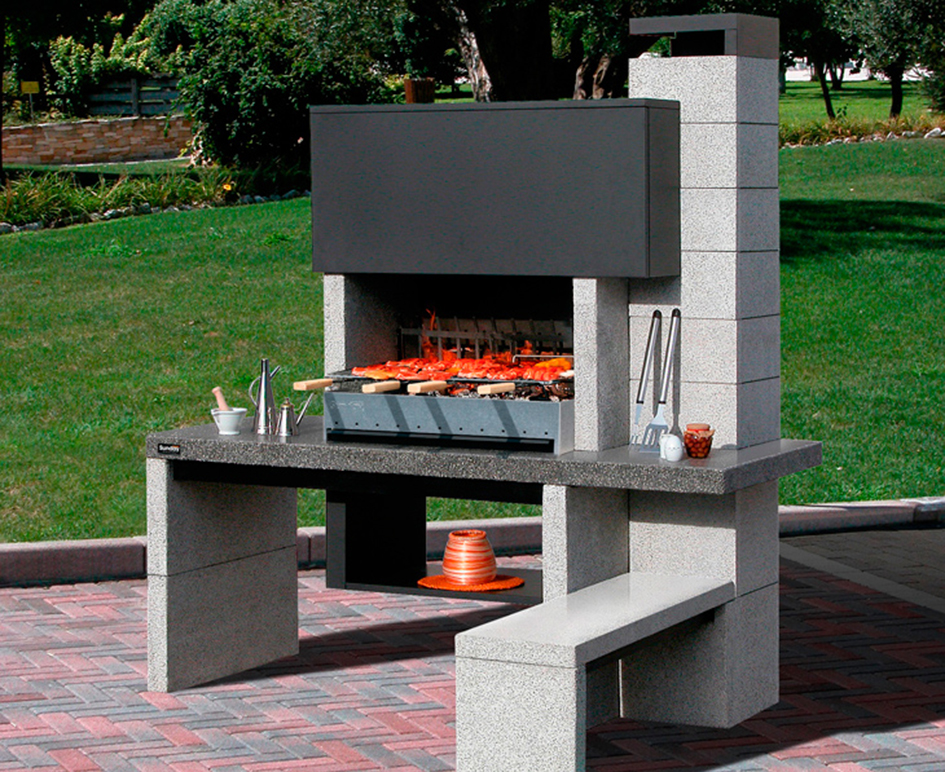 Galer a chimeneas carmelo blanco - Barbacoas y hornos ...
