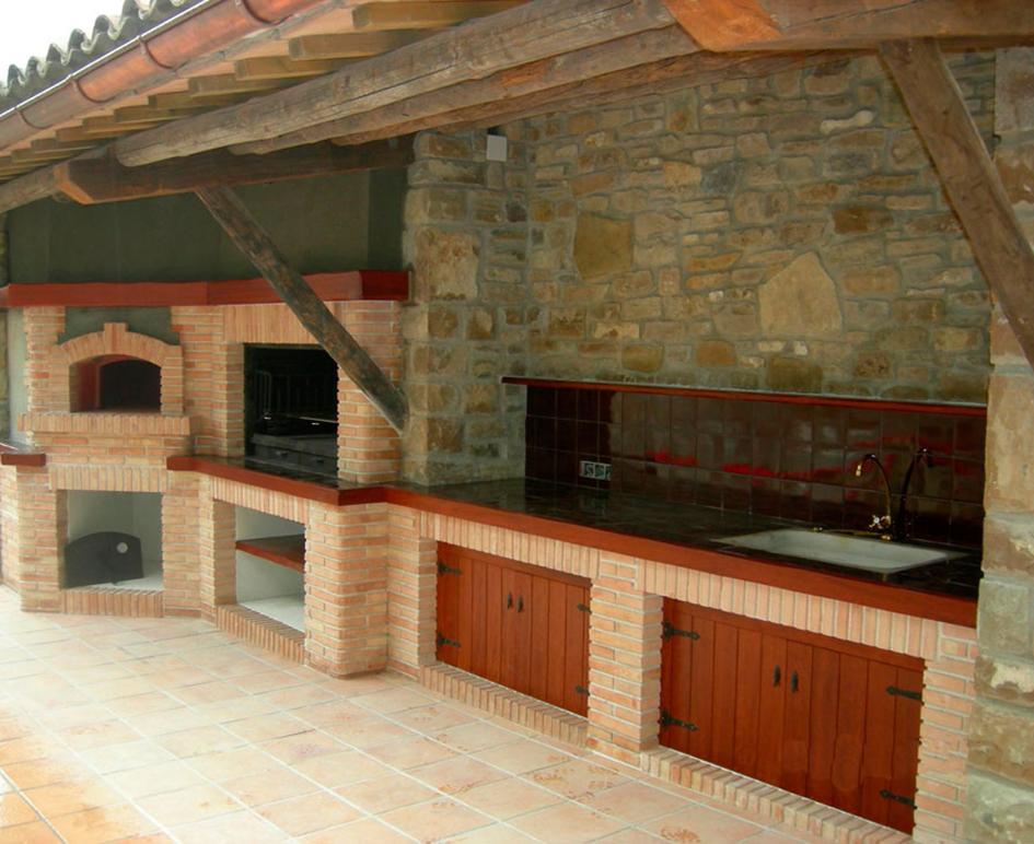 Barbacoa de dise o moderna vancouver sunday chimeneas - Barbacoa de piedra ...