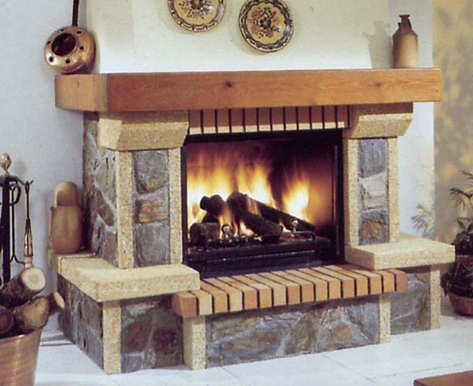 Galer a chimeneas carmelo blanco - Revestimientos de chimeneas rusticas ...